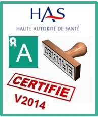 LA CLINIQUE CHANTECLER CERTIFIEE EN A