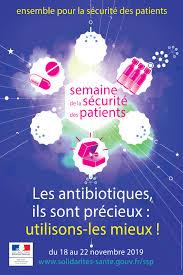 Semaine de Sécurité des patients du 18 au 22 novembre 2019