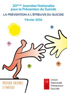 JOURNEE NATIONALE DE PREVENTION DU SUICIDE : le mercredi 24 février 2016