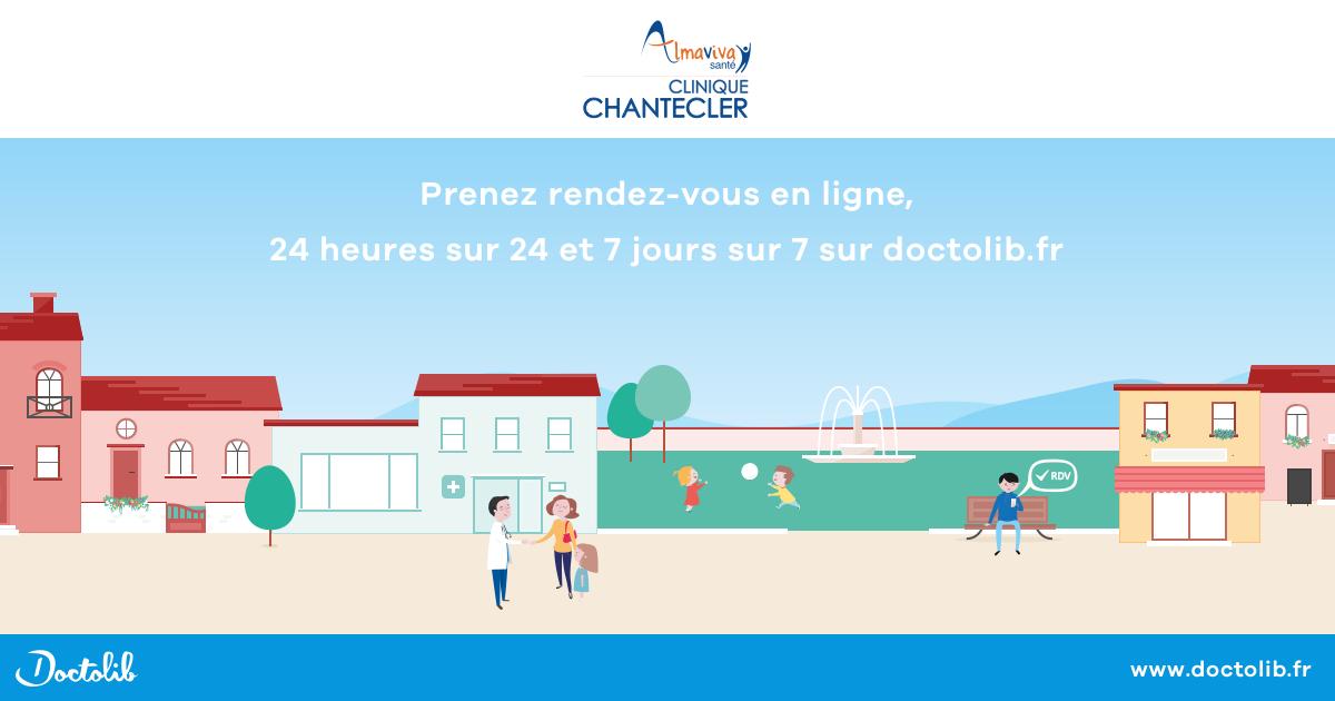 La clinique Chantecler s'associe à Doctolib afin de faciliter l'accès aux soins de ses patients