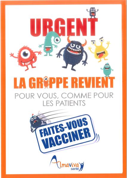 L'épidémie de Grippe : Vaccinez vous!