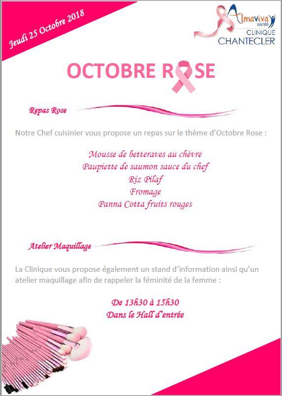 Octobre Rose : La Clinique Chantecler se mobilise dans la lutte contre le cancer du sein